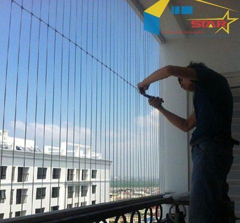 Lưới an toàn ban công, http://gianphoiquanaothongminh.org/ , lắp đặt lưới an toàn ban công, lắp đặt lưới an toàn, Hệ thống che chắn ban công, lưới an toàn ban công giúp tăng vẻ đẹp, bộ lưới bảo vệ cho ban công