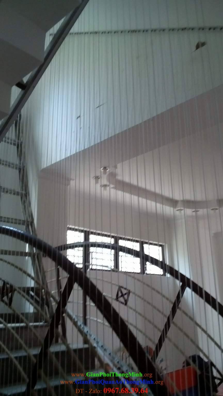 Thi công làm lưới cầu thang, Dịch vụ lắp giàn phơi, Lưới an toàn, Bạt che nắng, Lưới an toàn cho chung cư, Lưới an toàn ban công, Lắp đặt giàn phơi thông minh
