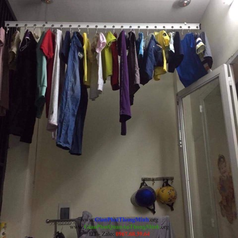 giàn phơi đồ chung cư, giàn phơi đồ thông minh, không gian phơi đồ, nhà chung cư, giàn phơi, chung cư TP Hồ Chí Minh, Gianphoiquanaothongminh.org