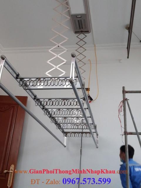 Giàn phơi thông minh bấm điện, giàn phơi,mẫu giàn phơi, sử dụng giàn phơi thông minh bấm điện, Gianphoiquanaothongminh.org,