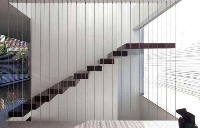lưới an toàn cầu thang, cầu thang, lưới an toàn, lắp đặt lưới an toàn cầu thang, chung cư, nhà phố, nhà cao tầng, Cáp bọc nhựa, Tăng đơ cầu thang