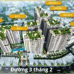 Lắp đặt giàn phơi gắn trần cho Chung cư Hà Đô đường 3 tháng 2